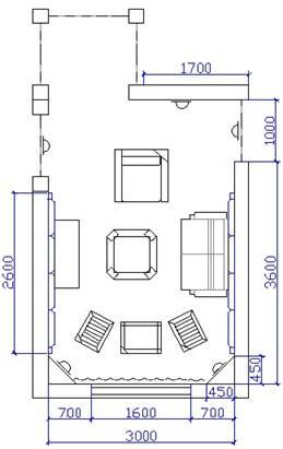 卧室设计图纸画法图片